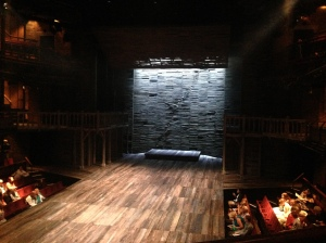 "The ""thrust"" stage at the RSC"